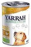 Yarrah Bio Hundefutter Pate Huhn, Spirulina,...