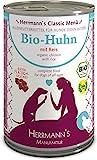Herrmanns Bio Hundefutter Huhn Menu 1 mit Reis,...