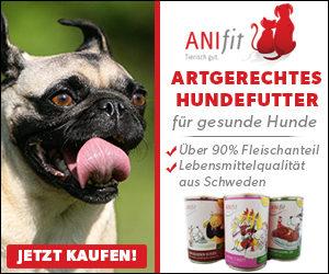 Artgerechtes Hundefutter von Anifit