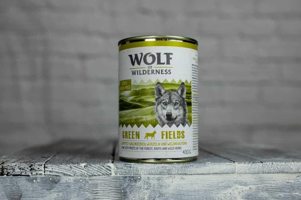 Wolf of Wilderness Green Fields