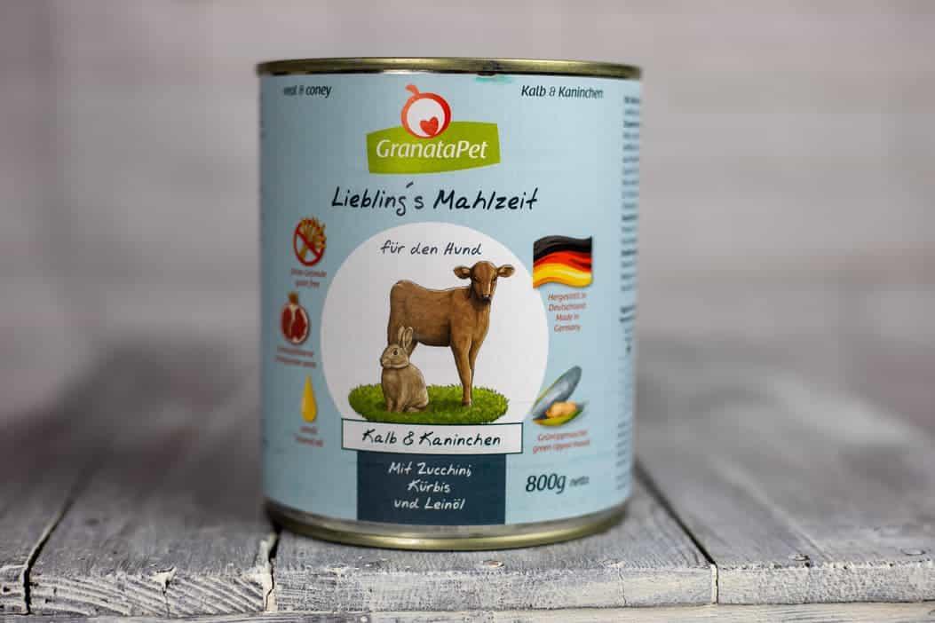 GranataPet Liebling's Mahlzeit Kalb&Kaninchen