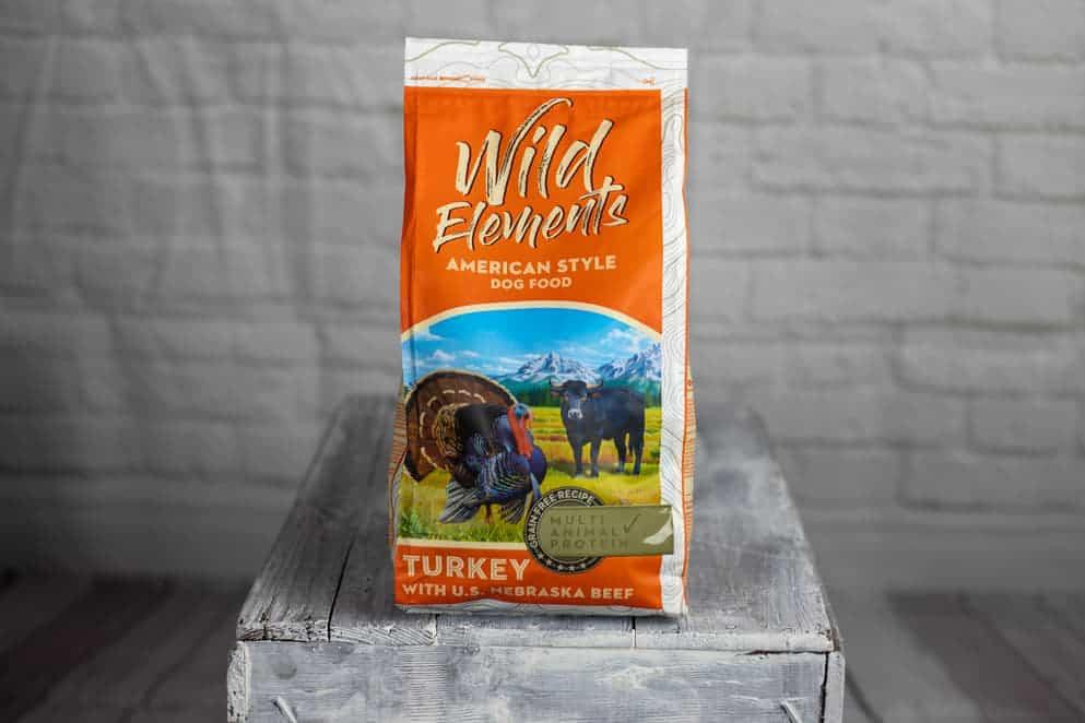 Verpackung Wild Elements Truthahn