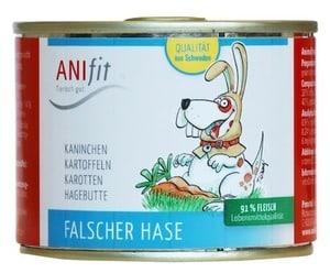 Anifit Hundefutter Dose Falscher Hase