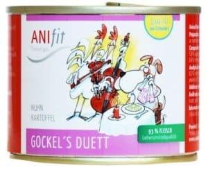 Anifit Hundefutter Dose Gockels Duett