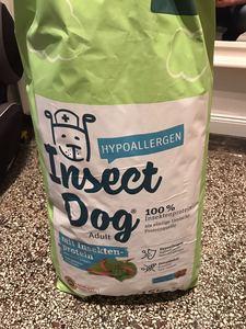 15kg Green Petfood Insectdog