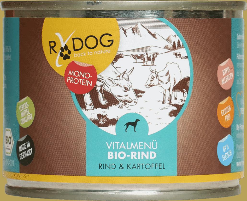 RyDog 200g Dose BIO Rind