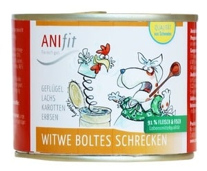Anifit Hundefutter Dose Witwe Boltes Schrecken