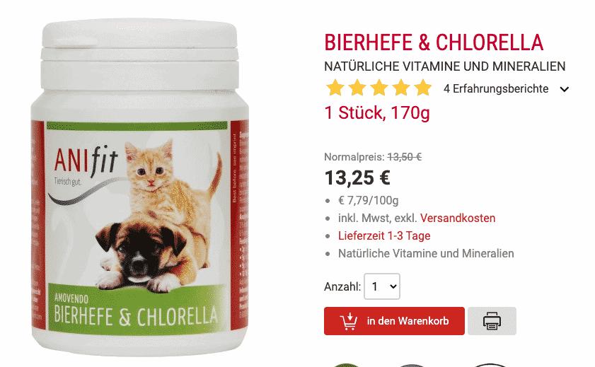 Bierhefe & Chlorella kaufen
