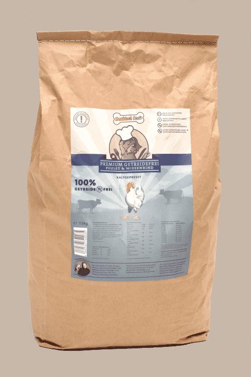 Ein Sack Hundefutter vom Hundekoch Profi